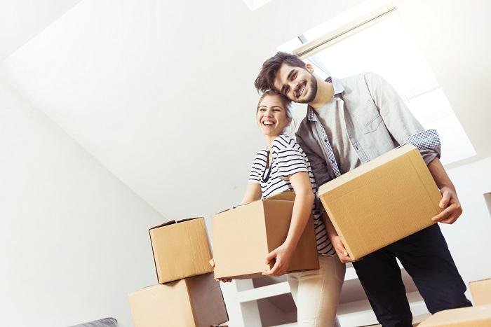 défaire ses boîtes de déménagement
